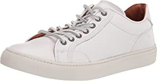 حذاء رياضي Frye رجالي برباط منخفض، أبيض