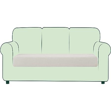 TIANSHU High Stretch Kissenbezug Sofakissen Schonbezug M/öbelschutz Sofasitzbezug f/ür Couch 1-teilige Kissenbez/üge f/ür 1 Sitzer 1 Sitzer, Beige