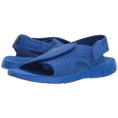 Nike Kids Sunray Adjust 4 (Little Kid/Big Kid) (Game Royal/Obsidian/Game Royal) Boys Shoes