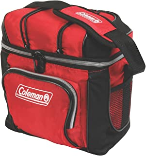 Coleman 9 Can Cooler,Red