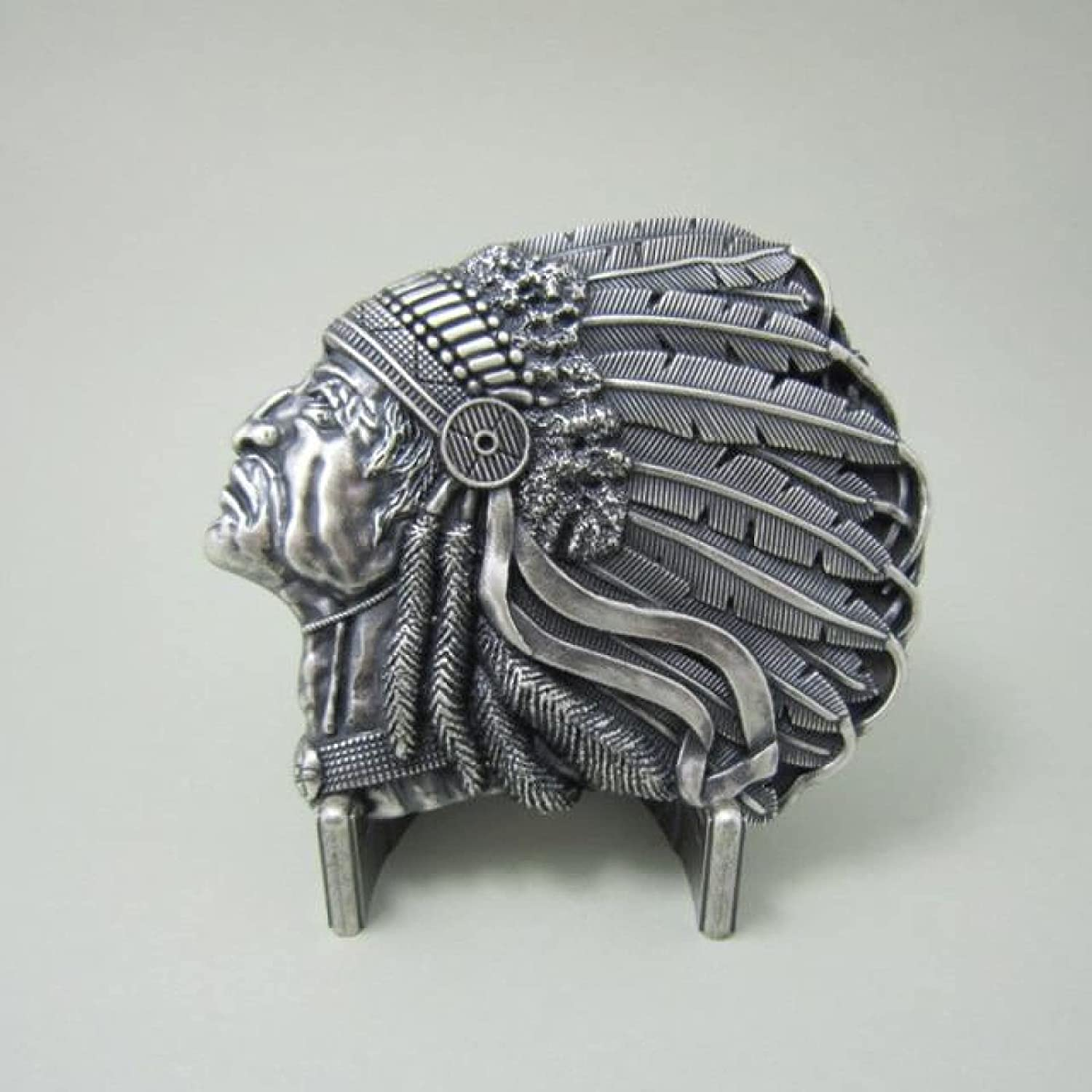 Omaha Mall Vintage Chief Free Shipping New Feather Belt Womens BUCKLE-WT073 Buckle