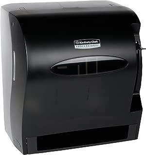 Kimberly Clark Levermatic Roll Paper Towels Dispenser (09765), Manual, Smoke (Black)