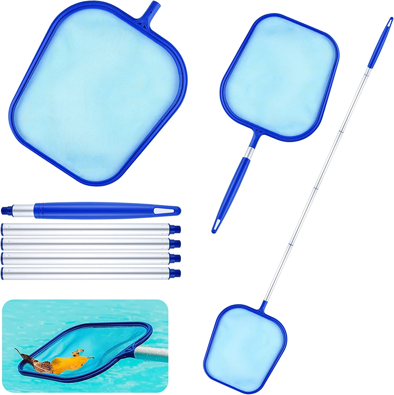 Oumue Pool Skimmer Net Swimming Pool Cleaner Pool Supply Adjusta