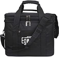 EGOGO Large Insulated Lunch Bag Cool Tote Bag Lunch Kit Box for Men, Women E524-1 (Black)