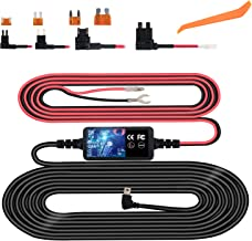 Dash Cam Hardwire Kit, Micro USB Hard Wire Kit for Dashcam, Plozoe 12V-30V to 5V Car Dash Camera Charger Power Cord, Gift ...