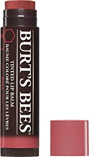 Burt's Bees 100% Natural Tinted Lip Balm , Rose
