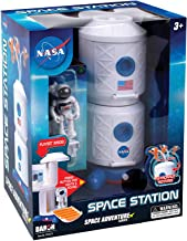 Daron NASA Space Adventure Series: Space Station with Lights, Sounds & Figurine