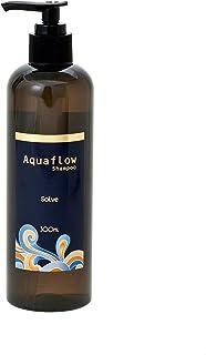 縮毛矯正した髪・カラーの繰り返しで大きくダメージした髪用シャンプーAquaflow「栄養そのもので洗うsolve」ソルブシャンプー アクアフロー (300ml)