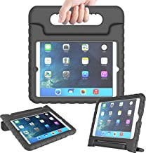 AVAWO Kids Case Compatible for iPad Mini 1 2 3 - Light Weight Shock Proof Handle Stand Kids Compatible for iPad Mini, iPad Mini 3rd Generation, iPad Mini 2 with Retina Display - Black