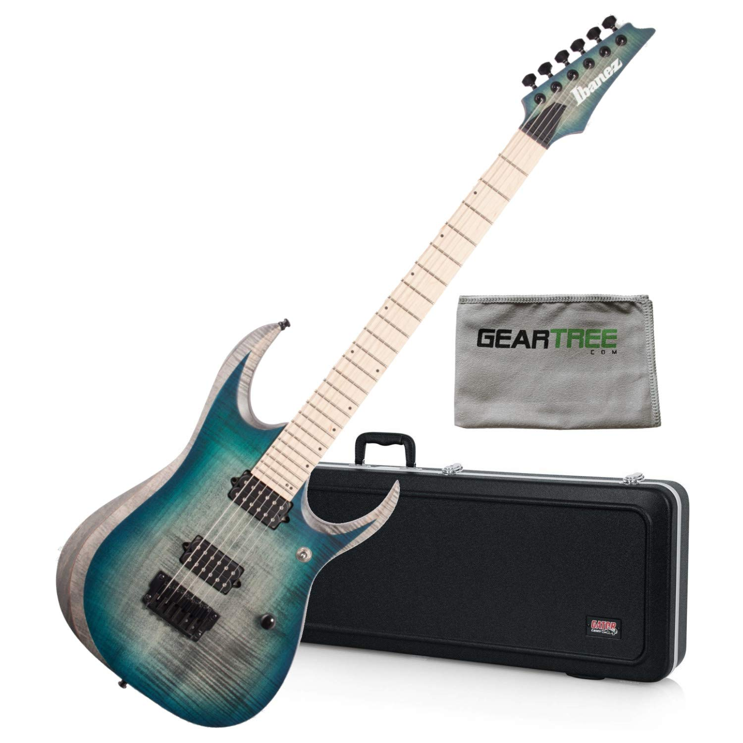 Cheap Ibanez RGD61ALSSB RGD Axion Label Electric Guitar Stained Sapphire Blue Burst w/ Black Friday & Cyber Monday 2019