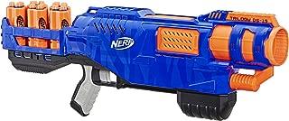 NERF Elite - Triology DS 15 Blaster - Inc 15 Official Elite Darts & 5 Shells - Kids Toys & Outdoor Games - Ages 8+