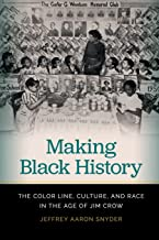 Making Black History: The Color Line, Culture, and Race in the Age of Jim Crow