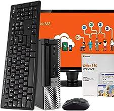 "$419 » Dell OptiPlex 7010 PC Desktop Computer, Intel i5, 8GB RAM 500GB HDD, Windows 10 Pro, Microsoft Office 365 Personal, 24"" LCD Monitor, New 16GB Flash Drive, Wireless Keyboard & Mouse, WiFi (Renewed)"
