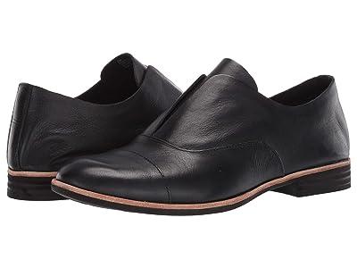 Kork-Ease Nottingham (Black Full Grain Leather) Women