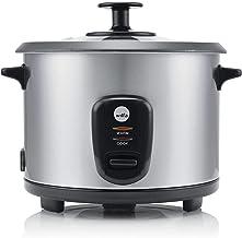 Wilfa INARI rijstkoker - 1 liter inhoud, 500 watt, antiaanbaklaag voor een gemakkelijke reiniging, zilver