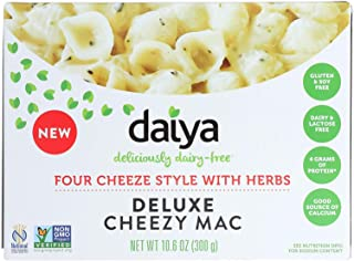 Daiya Cheezy Mac, Four Cheeze Style with Herbs :: Rich & Creamy Plant-Based Mac & Cheese :: Deliciously Dairy Free, Vegan,...