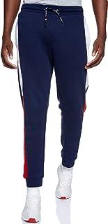 سروال بقماش الجاكارد وشعار العلامة التجارية ضمن تشكيلة تومي جينز للرجال من تومي هيلفجر، لون ازرق، مقاس S