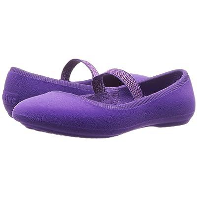 Native Kids Shoes Margot Velvet (Toddler/Little Kid) (Starfish Purple) Girls Shoes