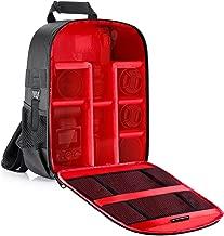 Neewer Camera Case Backpack Waterproof Shockproof 12.2×5.5×14.6 inches Bag (Red..