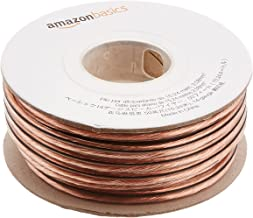 AmazonBasics 14-Gauge Audio Stereo Speaker Wire Cable - 50 Feet