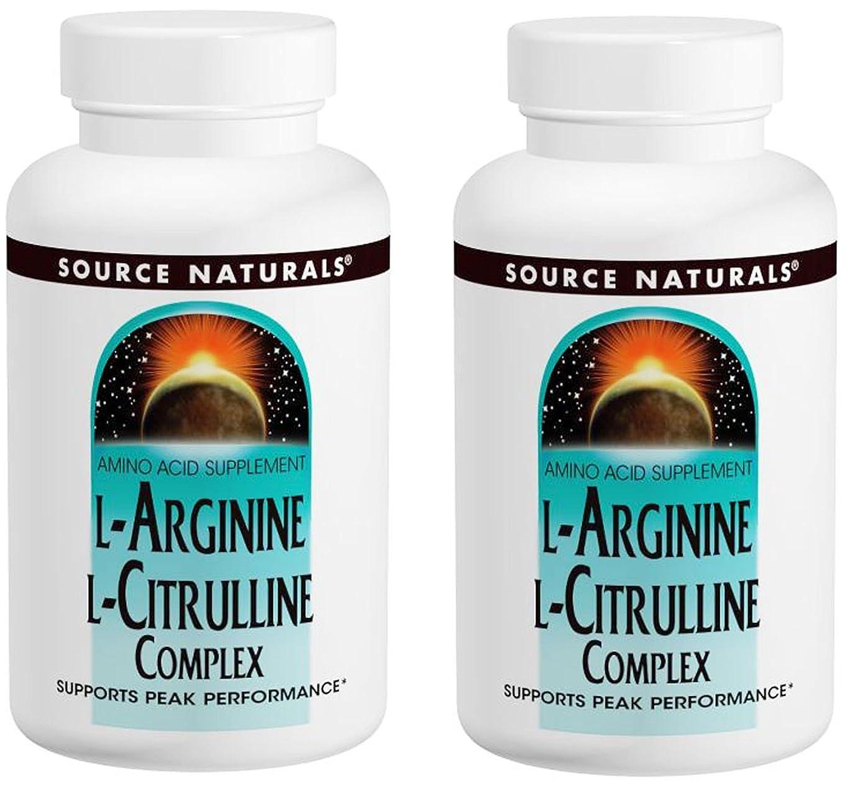 貞バケット以内に2個セット L-アルギニン & L-シトルリンコンプレックス 120タブレット - L-Arginine & L-Cirulline Complex 120 tabs