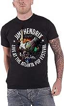Jimi Hendrix T Shirt Atlanta Pop Festival 1970 Official Vintage Mens Black