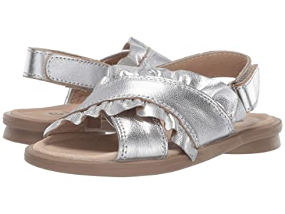 Old Soles Queen Sandal (Toddler/Little Kid) (Silver) Girl