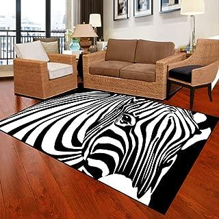 axnx Alfombras Simplicidad Moderna Alfombra Salón Dormitorio Sofá Alfombras De Mesa De Té Alfombras Antideslizantes Patrones Geométricos Alfombras 160X250Cm Color1
