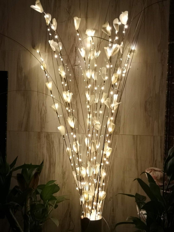 配送員設置送料無料 1 ZJ RIGHT R 43Inch LED Twig Willow Natural 爆買い新作 Branch Light Flower