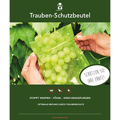 100 StÜCke Trauben Schutz Taschen FÜR Obst GemÜSe Trauben Netz Beutel Gegen