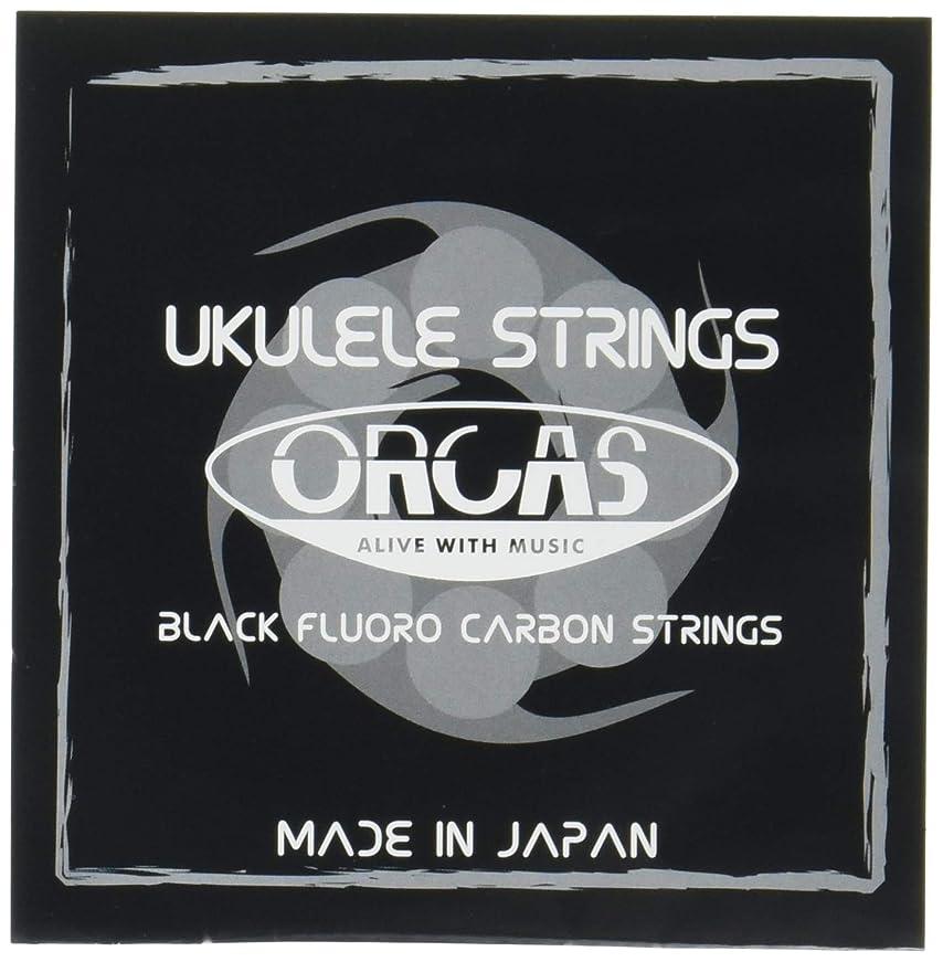 犯罪ファーム分【ORCAS】 ウクレレ弦 Low-G単品 OS-30 TEN LG (テナー用)