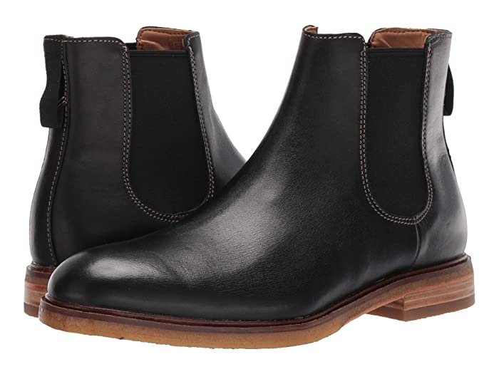 Clarks  Clarkdale Gobi (Black Leather) Mens Pull-on Boots