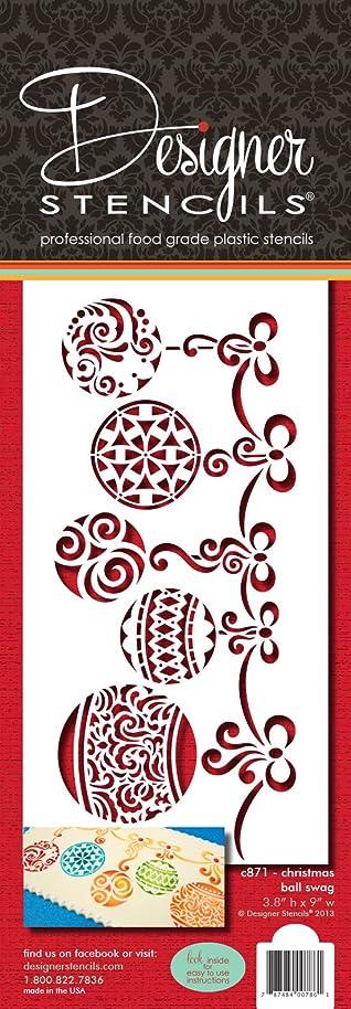 Christmas Ball Swag by Designer Stencils