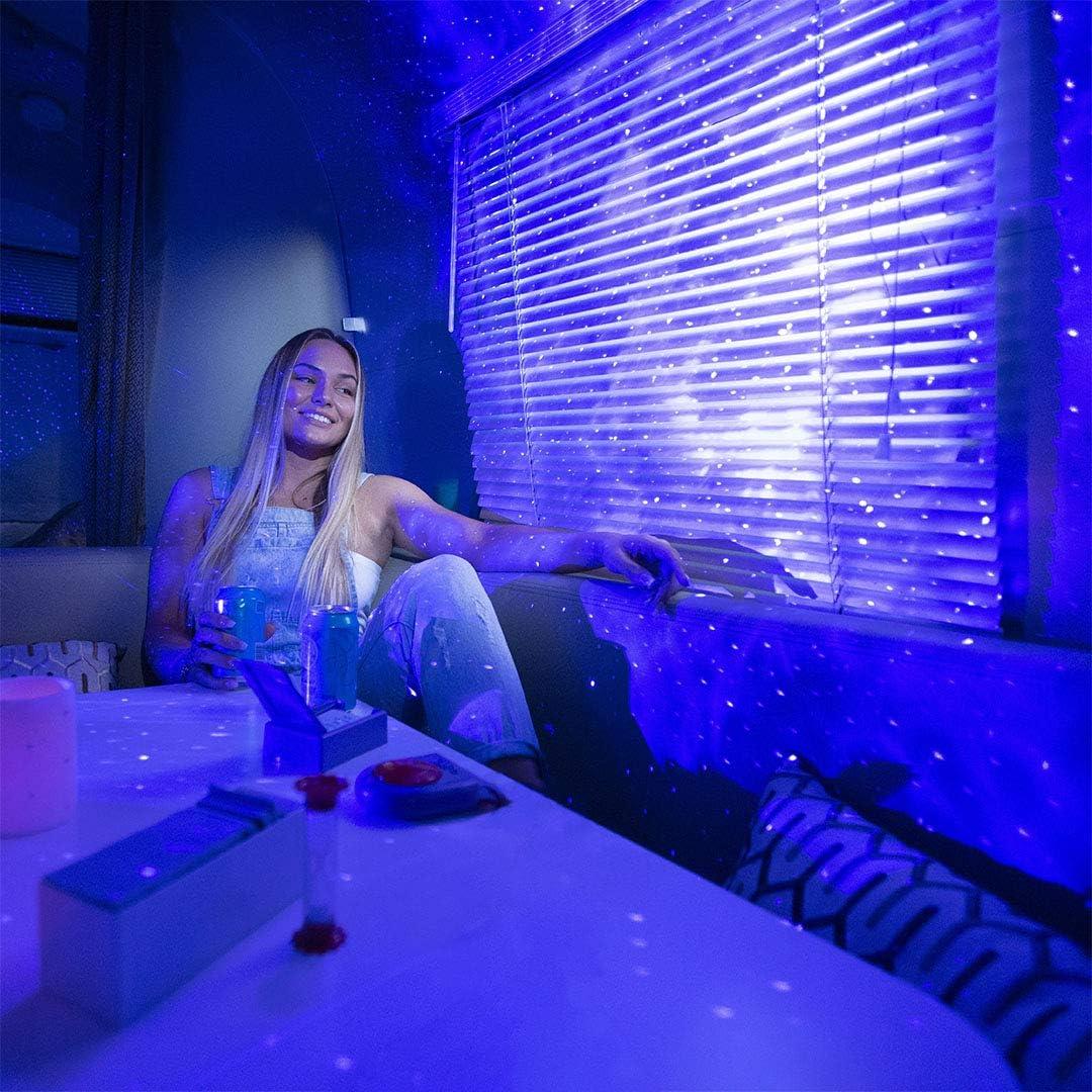 Buy BlissLights Sky Lite - LED Laser Star Projector, Galaxy Lighting,  Nebula Lamp (Blue Stars, Blue Cloud) Online in Vietnam. B084DCF429