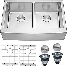 Best 36 inch double bowl farmhouse sink Reviews