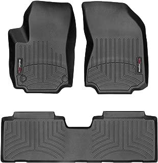 Autotech Park Custom Fit Car Floor Mat Compatible with 2010-2017 Chevrolet Equinox SUV All Weather Heavy Duty Floor Mat Set