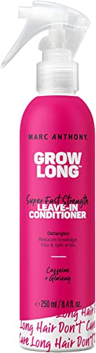 Marc Anthony Strengthening Grow Long Caffeine Leave-In Conditioner, 250ml