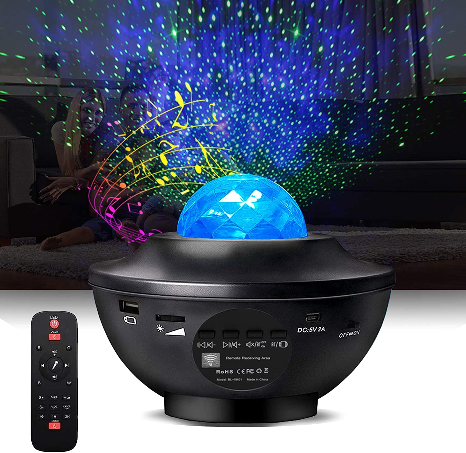 Night Light Projector 3 in wit Indianapolis Mall Star Fashion Galaxy 1