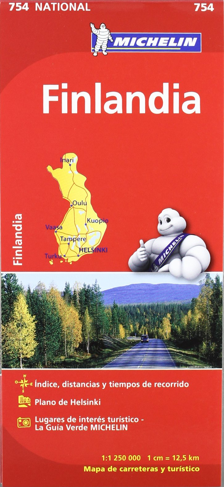Image OfMapa National Finlandia (Mapas National Michelin)