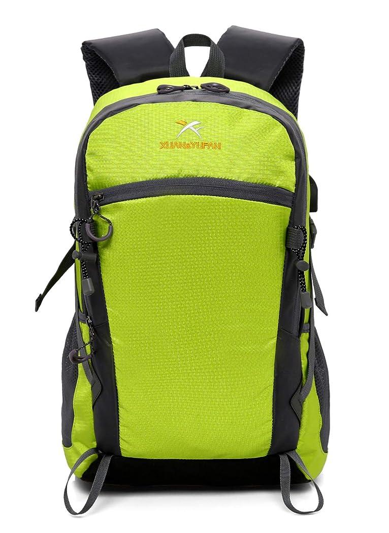 レキシコン予想する昼寝登山 リュック サック 多機能 バックパック スポーツバッグ 通気性 大容量 防水 軽量 登山 ハイキング トレッキング キャンプ レッド