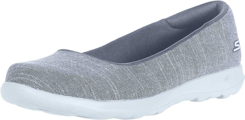 Skechers Women's Go Walk Lite-136001 Ballet Flat