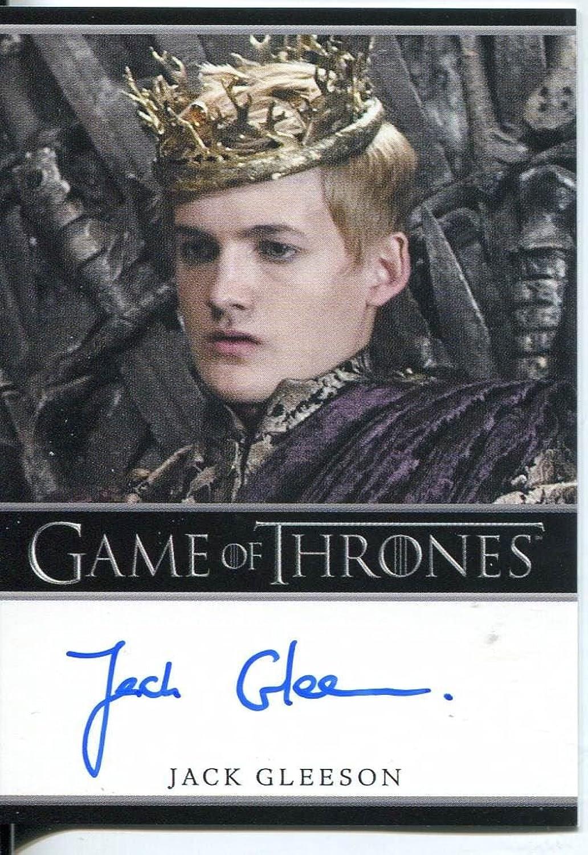 Games of Thrones Season 2Autogrammkarte Jack Gleeson als Knig Joffrey Baratheon