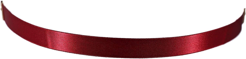Arsimus 15mm Smooth and Stylish Plain Satin Choker Necklace
