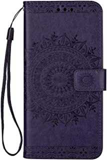 Flip Case for iPhone XS, purple PU Leather Cover (Compatible with iPhone XS)