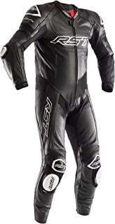 RST Tractech Evo R CE Leather Motorcycle Race Suit Black Size UK46,EU56,XL