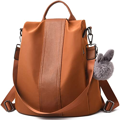 Charmore Women Backpack Ladies Rucksack Waterproof Nylon School bags  Anti-theft Dayback Shoulder Bags a67b5d422e8a2