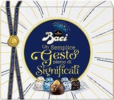 Baci Perugina Cioccolatini Assortiti Ripieni al Gianduia e Nocciola, 200g