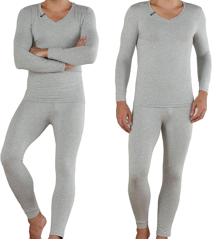 Mucwer Men's Industry No. 1 Thermal Underwear Knitting Soft Cotton Lo Sleepwear Directly managed store