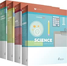 New Lifepac Grade 3 AOP 4-Subject Box Set (Math, Language, Science & History / Geography, Alpha Omega, 3rd GRADE, HomeSchooling CURRICULUM, New Life Pac [Paperback]