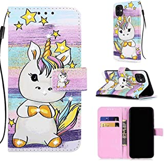 Positive Cover Compatible with Samsung Galaxy S20 Ultra, unicorn PU Leather Wallet Flip Case for Samsung Galaxy S20 Ultra